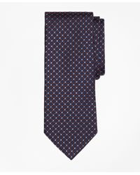 Brooks Brothers | Blue Fancy Dot Tie for Men | Lyst