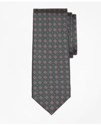 Brooks Brothers | Green Horseshoe Link Print Tie for Men | Lyst