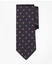 Brooks Brothers | Blue Spaced Flower Tie for Men | Lyst