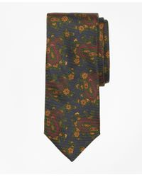 Brooks Brothers | Green Ancient Madder Paisley Print Tie for Men | Lyst