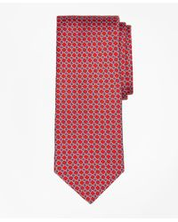 Brooks Brothers | Red Square Link Print Tie for Men | Lyst
