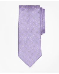 Brooks Brothers   Purple Textured Four-petal Flower Tie for Men   Lyst