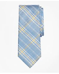Brooks Brothers | Blue Plaid Tie for Men | Lyst