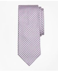 Brooks Brothers | Purple Square And Dot Tie for Men | Lyst
