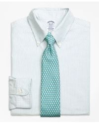 Brooks Brothers | Blue Regent Fit Original Polo® Button-down Oxford Bengal Stripe Dress Shirt for Men | Lyst