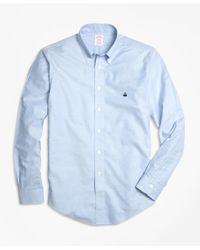 Brooks Brothers | Blue Non-iron Madison Fit Oxford Sport Shirt for Men | Lyst