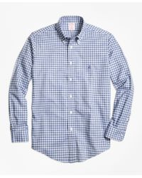 Brooks Brothers | Blue Non Iron Dress Shirt for Men | Lyst