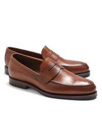 Brooks Brothers - Brown Penny Loafers for Men - Lyst