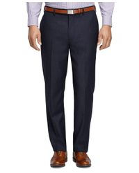 Brooks Brothers | Blue Madison Fit Houndstooth Trousers for Men | Lyst
