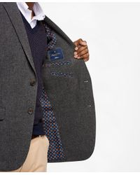 Brooks Brothers - Gray Milano Fit Two-button Wool Sport Coat - Lyst