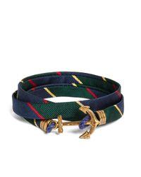 Brooks Brothers | Multicolor Kiel James Patrick Argyle Sutherland Rep Wrap Bracelet for Men | Lyst