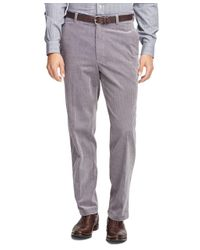 Brooks Brothers | Gray Hudson Fit Wide Wale Corduroys for Men | Lyst