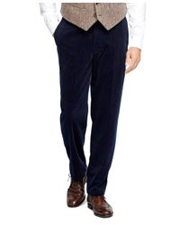 Brooks Brothers | Blue Hudson Fit Wide Wale Corduroys for Men | Lyst