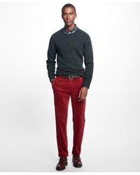 Brooks Brothers - Red Milano Fit Wide Wale Stretch Corduroys for Men - Lyst