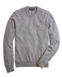 Brooks Brothers | Gray Cashmere Crewneck Sweater-basic Colors for Men | Lyst