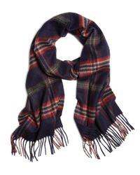 Brooks Brothers | Blue Signature Tartan Cashmere Scarf for Men | Lyst
