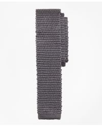 Brooks Brothers | Gray Knit Slim Tie for Men | Lyst