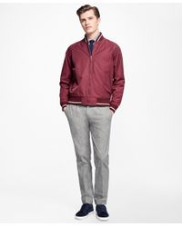 Brooks Brothers | Multicolor Varsity Bomber for Men | Lyst