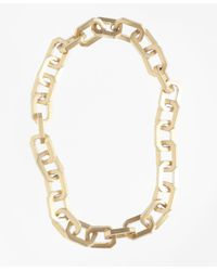 Brooks Brothers - Metallic Iconic Link Necklace - Lyst