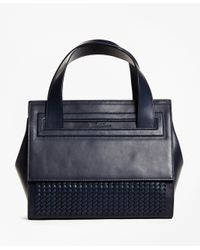 Brooks Brothers | Black Bettina Satchel | Lyst
