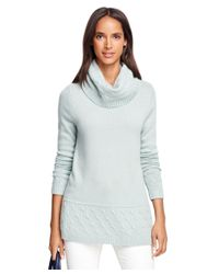 Brooks Brothers - Blue Cashmere Turtleneck - Lyst