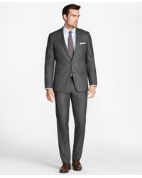 Brooks Brothers | Gray Regent Fit Open Plaid 1818 Suit for Men | Lyst