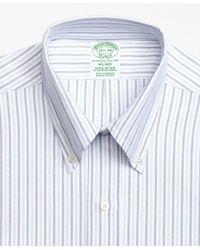 Brooks Brothers | Blue Milano Fit Original Polo® Button-down Alternating Bengal Stripe Dress Shirt for Men | Lyst