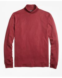 Brooks Brothers - Red Supima® Cotton Turtleneck for Men - Lyst