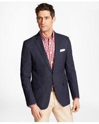 Brooks Brothers - Blue Regent Fit Hopsack Sport Coat for Men - Lyst