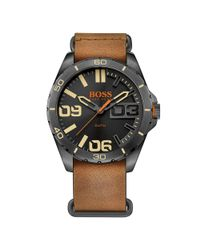 BOSS - Brown 1513316 for Men - Lyst