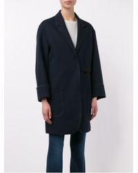 Acne Studios - Black Bariah Panama Wool-blend Blazer - Lyst