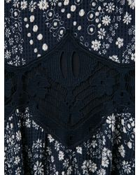 Chloé - Black Daisy Chain Sleeveless Jumpsuit - Lyst