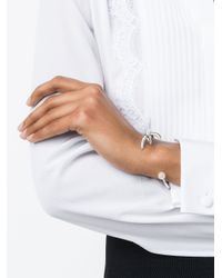Givenchy - Metallic Rooster Leg Bracelet - Lyst
