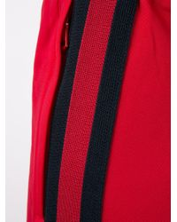 Gucci - Black Trackpants With Stripes - Lyst