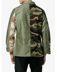 Sophnet | Natural Mixed Camo Jacket for Men | Lyst