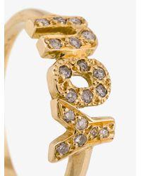 Natasha Zinko | Metallic You Diamond Ring | Lyst