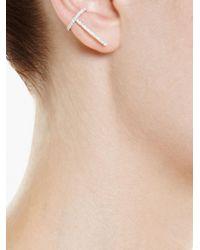 Asherali Knopfer - Multicolor Theo Diamond Earring - Lyst