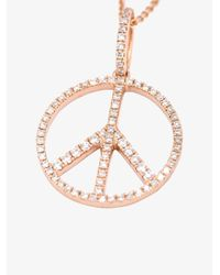 Rosa De La Cruz | Multicolor 'peace' Necklace | Lyst