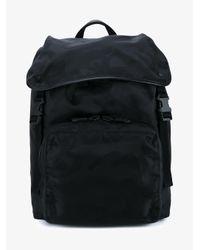 Valentino - Black Garavani Camouflage Backpack for Men - Lyst