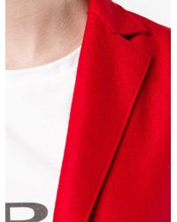 Harris Wharf London - Red Long Waistcoat - Lyst