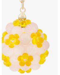 Simone Rocha - Yellow Floral Drop Single Earring - Lyst