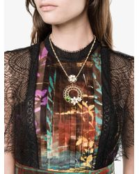 Dolce & Gabbana | Metallic Floral Cage Necklace | Lyst