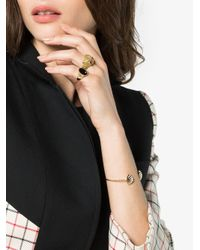 Yvonne Léon - Metallic Gold Owl Diamond Ring - Lyst