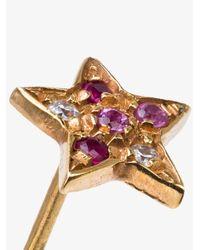 Carolina Bucci - Metallic Superstellar Star Stud Earring - Lyst