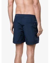 Orlebar Brown - Blue Setter Swim Shorts With Adjustable Belt for Men - Lyst