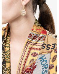 Kimberly Mcdonald - Gray Diamond And Stone Drop Earrings - Lyst