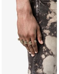 Gucci | Metallic Feline Knuckle Ring | Lyst