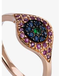 Ileana Makri - Multicolor Cat Eye Ring - Lyst