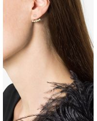 Yvonne Léon - Gray 18k Gold And Diamond Ear Cuff - Lyst