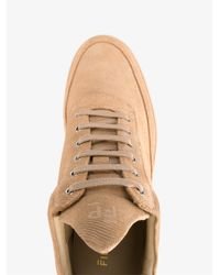 Filling Pieces - Natural Suede Low-top Sneakers for Men - Lyst